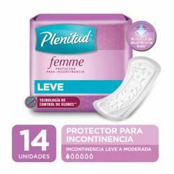 Protector para Incontinencia Plenitud Femme Largo x 14 un.