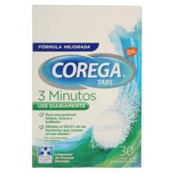 Tableta Limpiadora para Prótesis Corega x 30 un.
