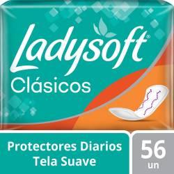 Protector Diario Clásico Ladysoft x 56 un.