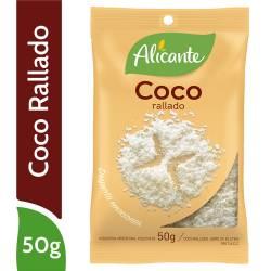 Coco Rallado Alicante x 50 g.