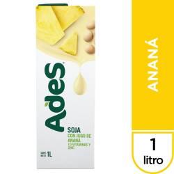 Bebida de Soja Ades Ananá Multi10 x 1 Lt.