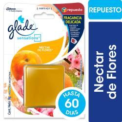 Aromatizante Ambiente Sensations Repuesto Glade Néctar x 8 g.