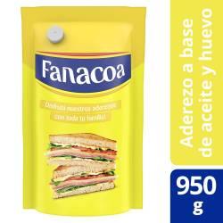 Mayonesa Fanacoa Doy Pack x 950 g.