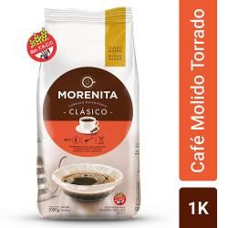 Café Molido Clásico La Morenita x 1 Kg.