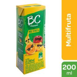 Jugo BC Multifruta x 200 cc.