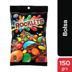 Lentejas de Chocolate con Leche Rocklets x 150 g.