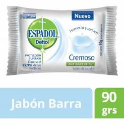 Jabón de Tocador Antibacterial Espadol Cremoso x 90 g.