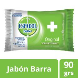 Jabón de Tocador Antibacterial Espadol Original x 90 g.