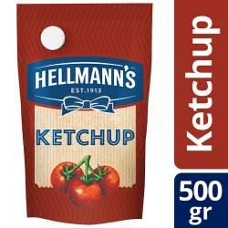 Kétchup Hellmanns Doy Pack x 500 g.