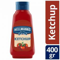 Kétchup Hellmanns Pet x 400 g.