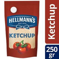 Kétchup Hellmanns Doy Pack x 250 g.