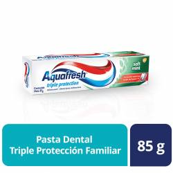 Crema Dental Aquafresh Triple Protección Soft x 85 g.
