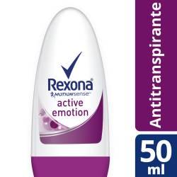 Antitranspirante Roll On Rexona Active Emotion x 50 cc.