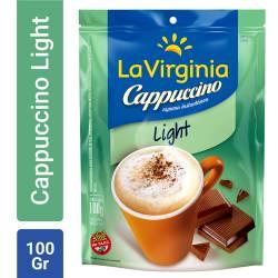 Café Instantáneo Cappuccino La Virginia Light Doy Pack x 100 g.