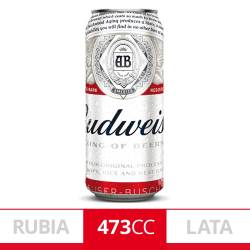 Cerveza Budweiser Lata x 473 cc.