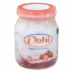 Yogur Entero Batido Dahi Frutilla x 200 g.
