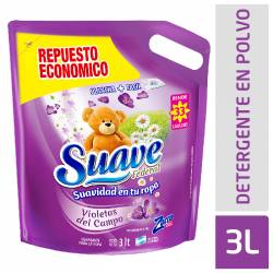 Suavizante para Ropa Suave Federal Violetas de Campo x 3 Lt.