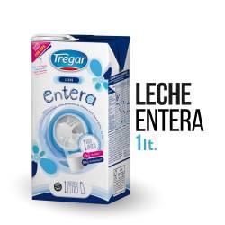 Leche L.V. Entera Tregar x 1 Lt.
