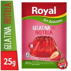 Gelatina en Polvo Light Royal Frutilla x 25 g.