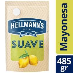 Mayonesa Suave con Jugo de Limón Hellmanns x 485 g.