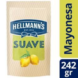 Mayonesa Hellmanns Suave con Jugo de Limón x 242 g.