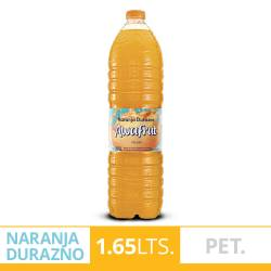 Agua sin gas Awafrut Naranja - Durazno x 1,65 Lt.