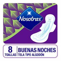 Toalla Femenina Nosotras Buenas Noches x 8 un.