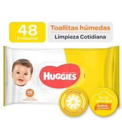 Toallitas Húmedas Huggies Clásico y Cotideano x 48 un.