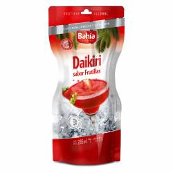 Daikiri Bahía Cocktails Frutilla Pouch x 285 cc.