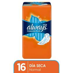 Toalla Higiénica Always Normal con Alas Seca x 16 un.