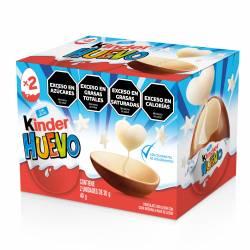 Huevo de Chocolate c/ Sorpresa Kinder Dinos x 40 g.