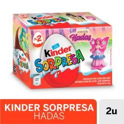 Huevo de Chocolate con Sorpresa Kinder Hadas x 40 g.