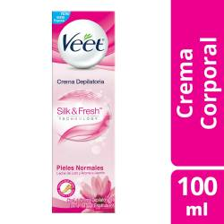 Crema Depilatoria Veet Piel Normal x 100 cc.