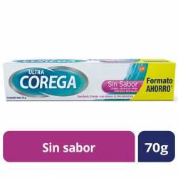 Adhesivo para Prótesis Corega Crema sin Sabor x 70 g.