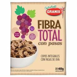 Cereales Granix Fibra Total con Pasas x 400 g.