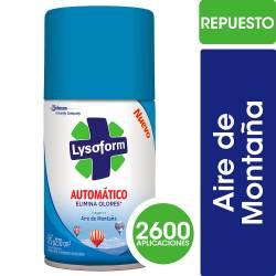 Desinfectante Repuesto Automático Lysoform Aires de Montaña x 175 g.