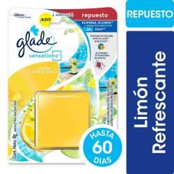 Aromatizante Ambiente Sensations Repuesto Glade Limón x 8 g.