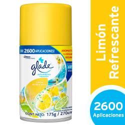 Aromatizante Ambiente Repuesto Glade Limón x 175 g.