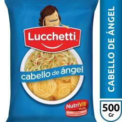 Fideos Lucchetti Cabellos de Ángel x 500 g.