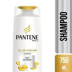 Shampoo Pantene MAX PRO-V Liso Extremo x 750 cc.