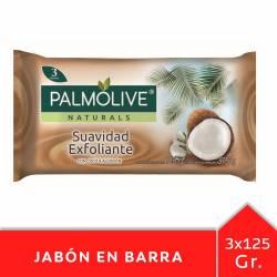 Jabón Tocador Palmolive Coco y Algodón x 3 un. x 375 g.
