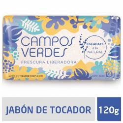Jabón Tocador Campos Verdes Fresunra Liberadora x 120 g.