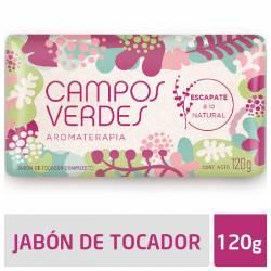 Jabón Tocador Campos Verdes Lluvia de Verano x 120 g.