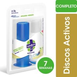 Limpia Inodoro Discos Activos Full Lysoform Cítricos x 1 un.