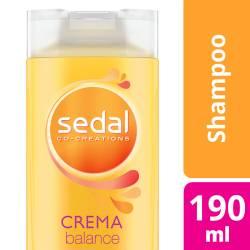Shampoo Sedal Crema Balance x 190 cc.