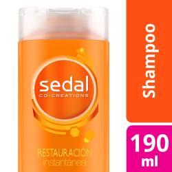 Shampoo Sedal Restauración Instantánea x 190 cc.
