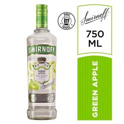 Vodka Smirnoff Green Apple x 700 cc.