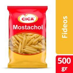 Fideos Mostachol Cica x 500 g.