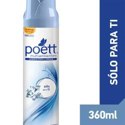 Aromatizante Ambiente Aerosol Poett Solo para Ti x 360 cc.