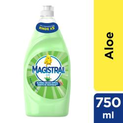 Detergente Líquido Espuma Activa Magistral Aloe x 750 cc.